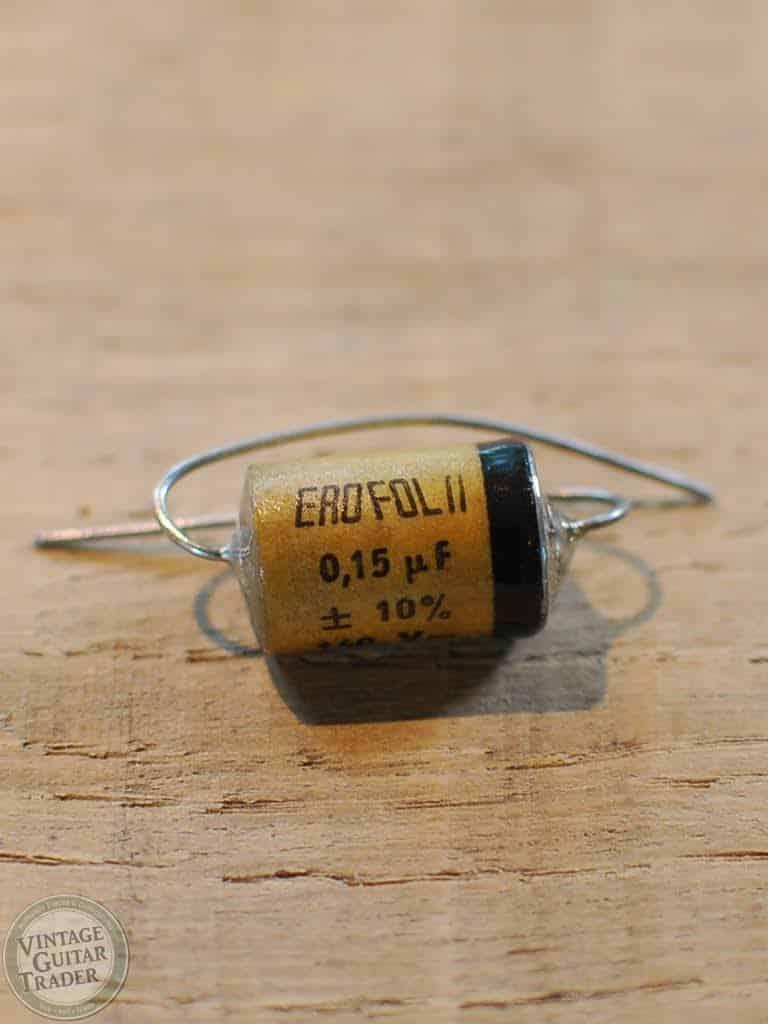 EROFOL II condensator 0.15uf 160v NOS 1960's